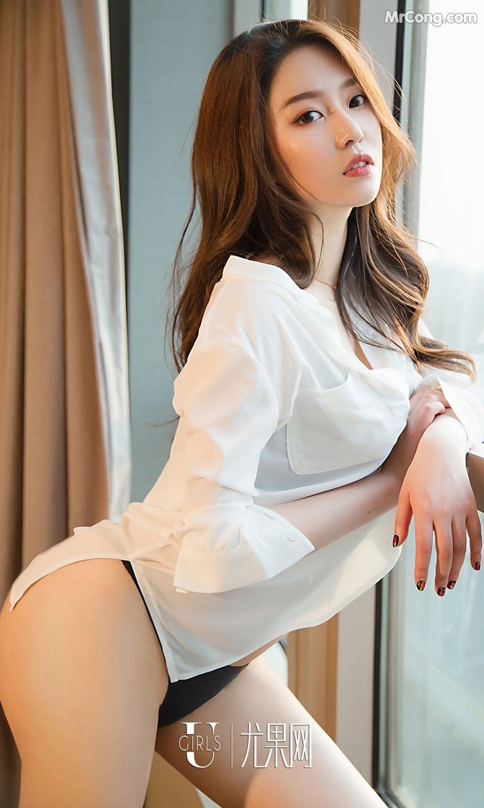 Image UGIRLS-Ai-You-Wu-App-No.1355-Zhong-Qing-MrCong.com-006 in post UGIRLS – Ai You Wu App No.1355: Người mẫu Zhong Qing (钟晴) (35 ảnh)