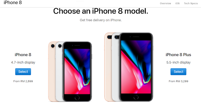 iPhone 7 series and iPhone 8 series received a price drop