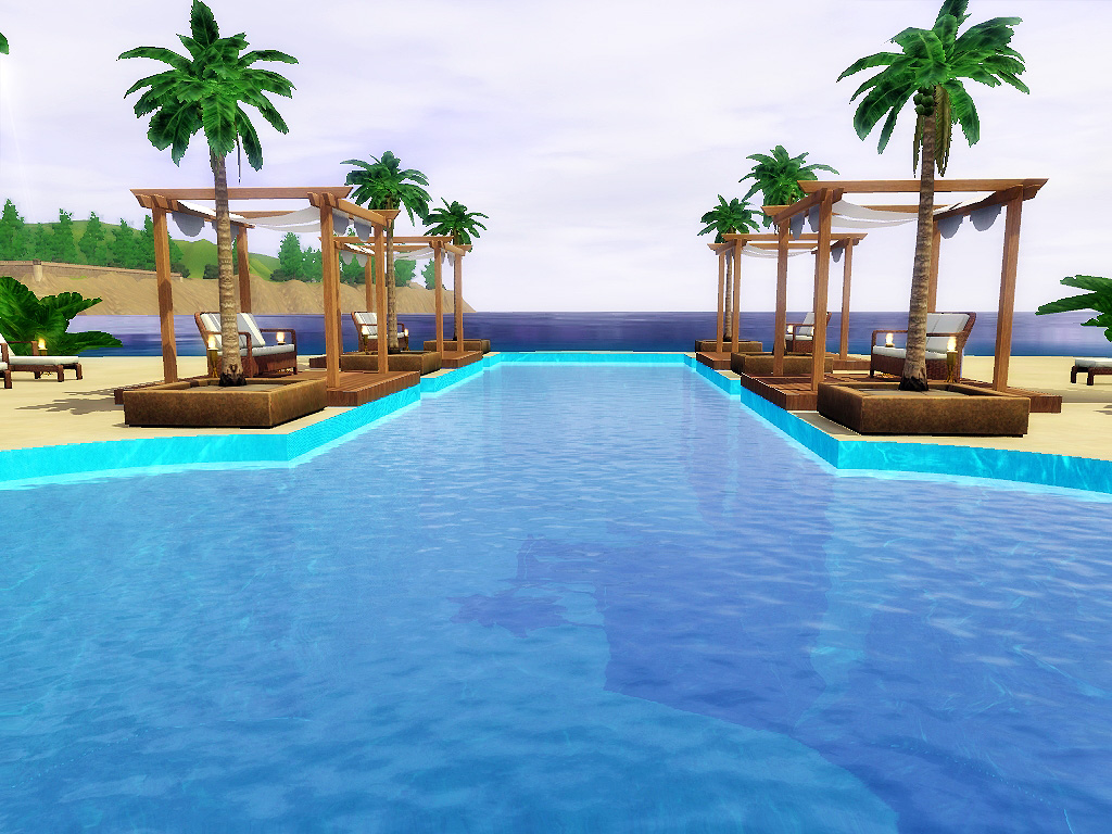My Sims 3 Blog Blue Coast Beach Resort By Via Sims
