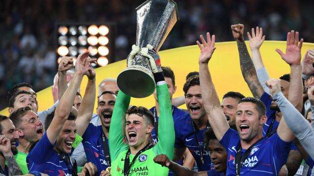 Vidéo - Ligue Europa: Chelsea écrase en finale Arsenal