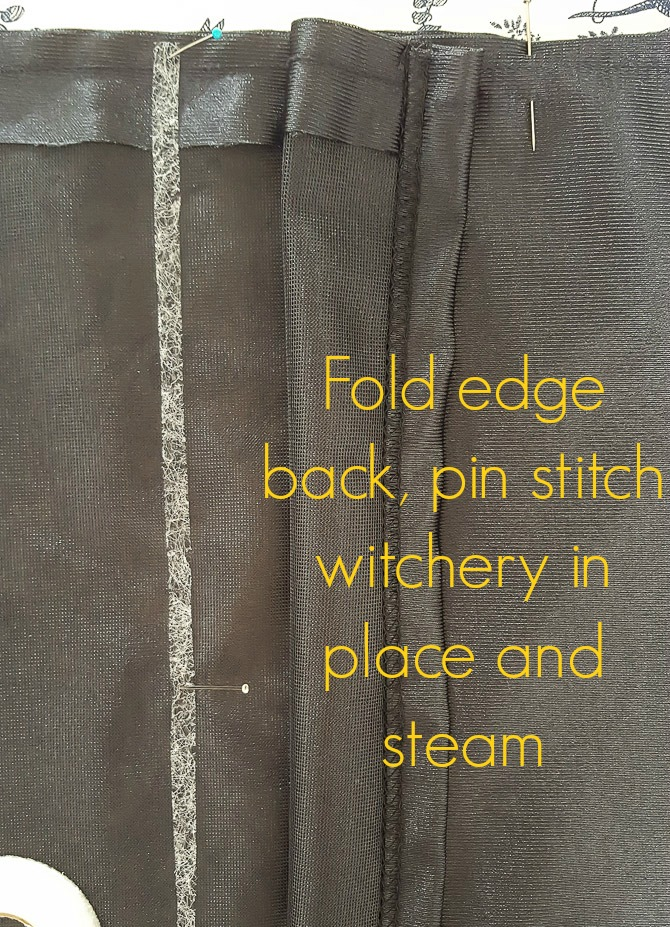 use stitch witchery for no-sew alterations