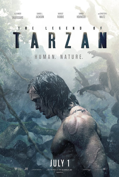 Poster Of The Legend Of Tarzan 2016 480p English HDTS Full Movie Download