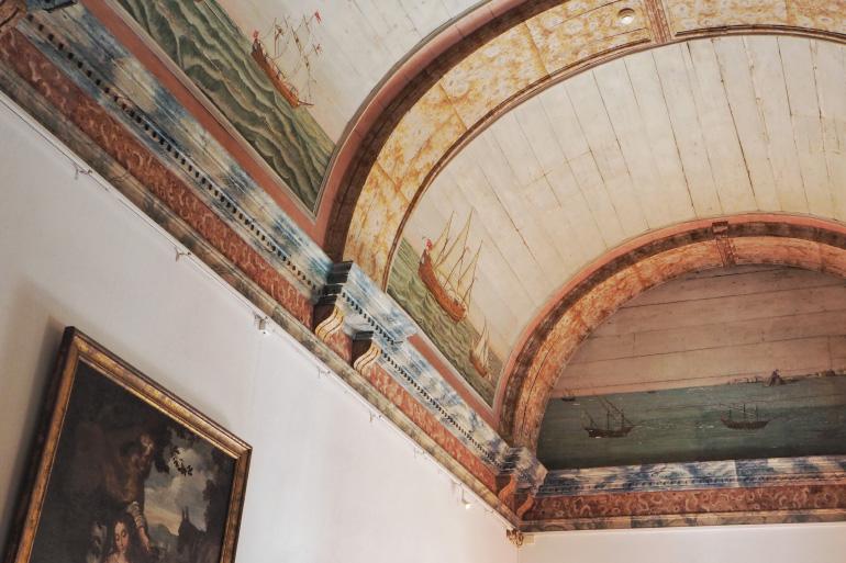 Intérieur du palais de Sintra près de Lisbonne