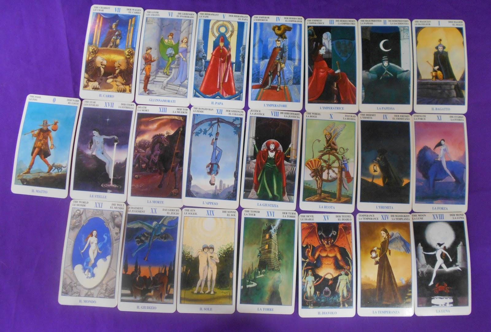 The Magical Witch: My favorite Tarot deck (The Secret Tarots--Marco ...