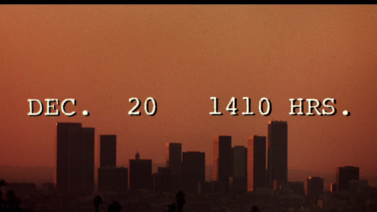 The Passage of Time in TO LIVE AND DIE IN L.A. (USA 1985)
