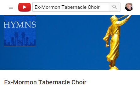 LDS Hymn Parodies performed by the Ex-Mormon Tabernacle Choir now on YouTube