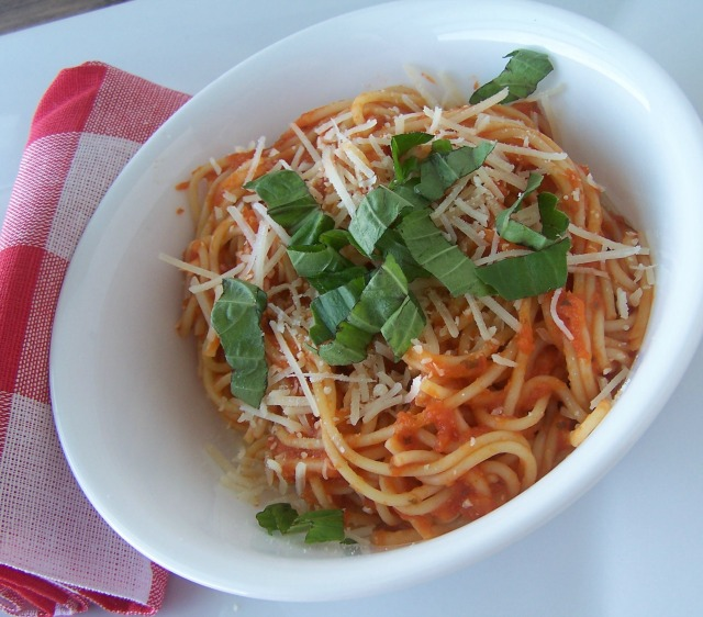 Pasta offers so many ways to make vegetarian options for meals.