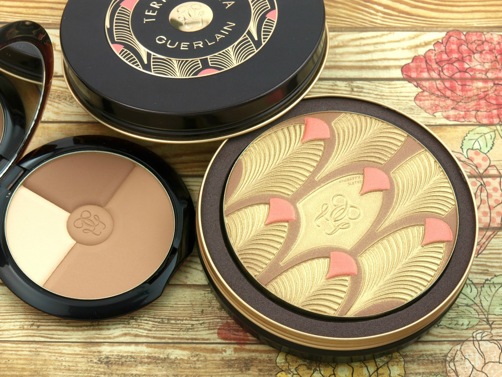 Guerlain Terracotta Sun Trio & Chic Tropic Bronzer: Review and Swatches