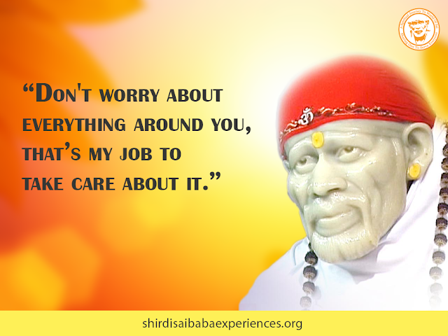 Baba I Beg You To Bless Me And Be With Me - Anonymous Sai Devotee