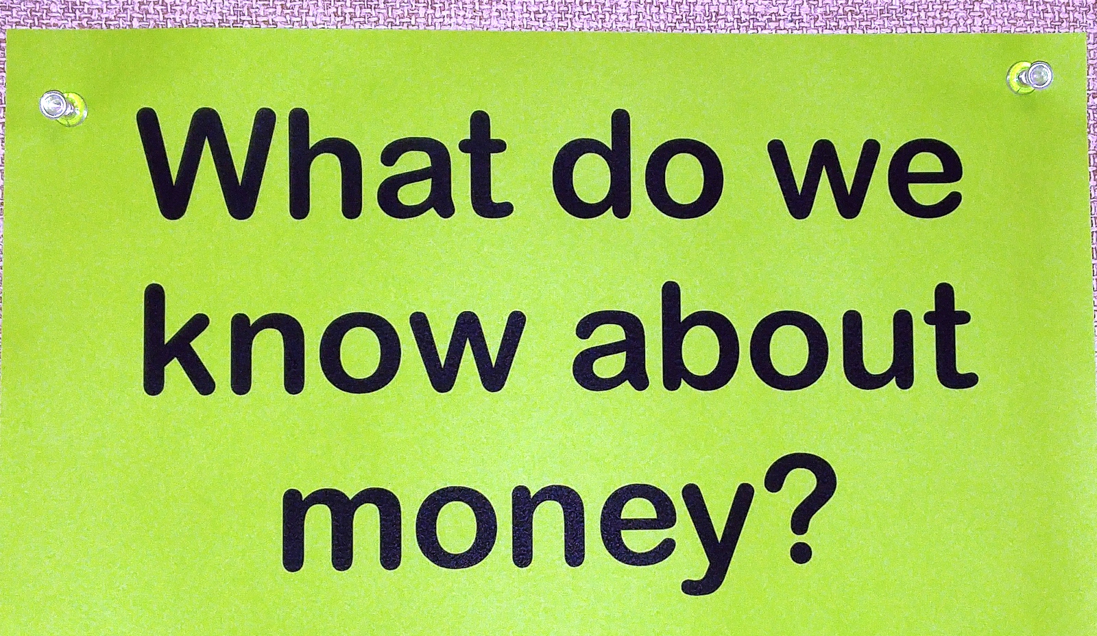Betsy Markman An Introduction To American Money