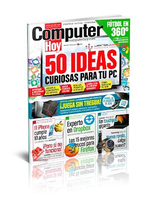 Computer Hoy 478 - 50 Ideas curiosas para tu PC !!