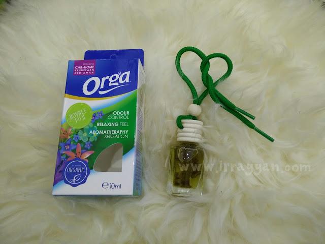 Perfume kereta organik