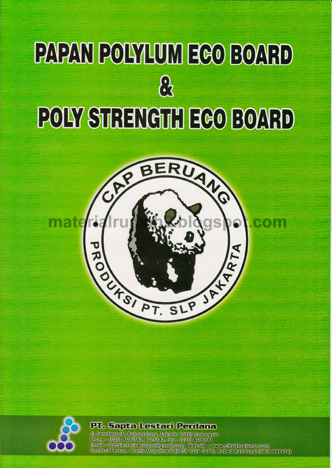 Papan Polylum Eco Board