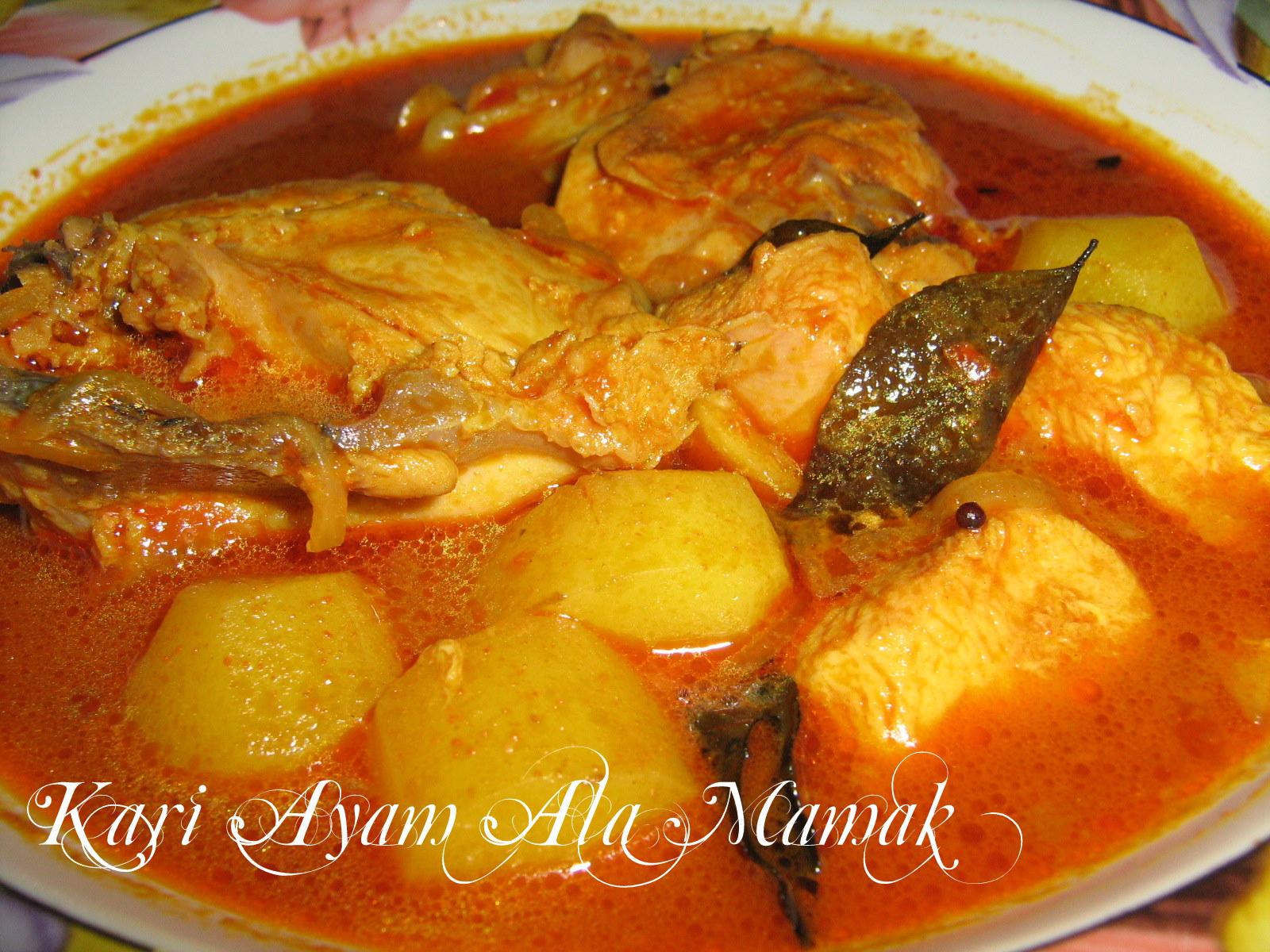 Makan Apa?: Kari Ayam Ala Mamak