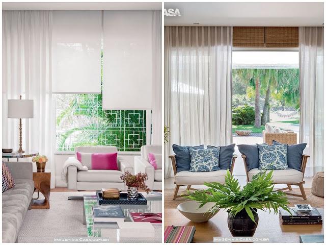 cortina com persiana
