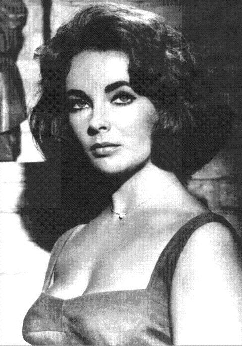 Nude portrait of Elizabeth Taylor seen for the 1st time