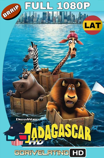 Madagascar (2005) BRRip 1080p Latino-Ingles MKV