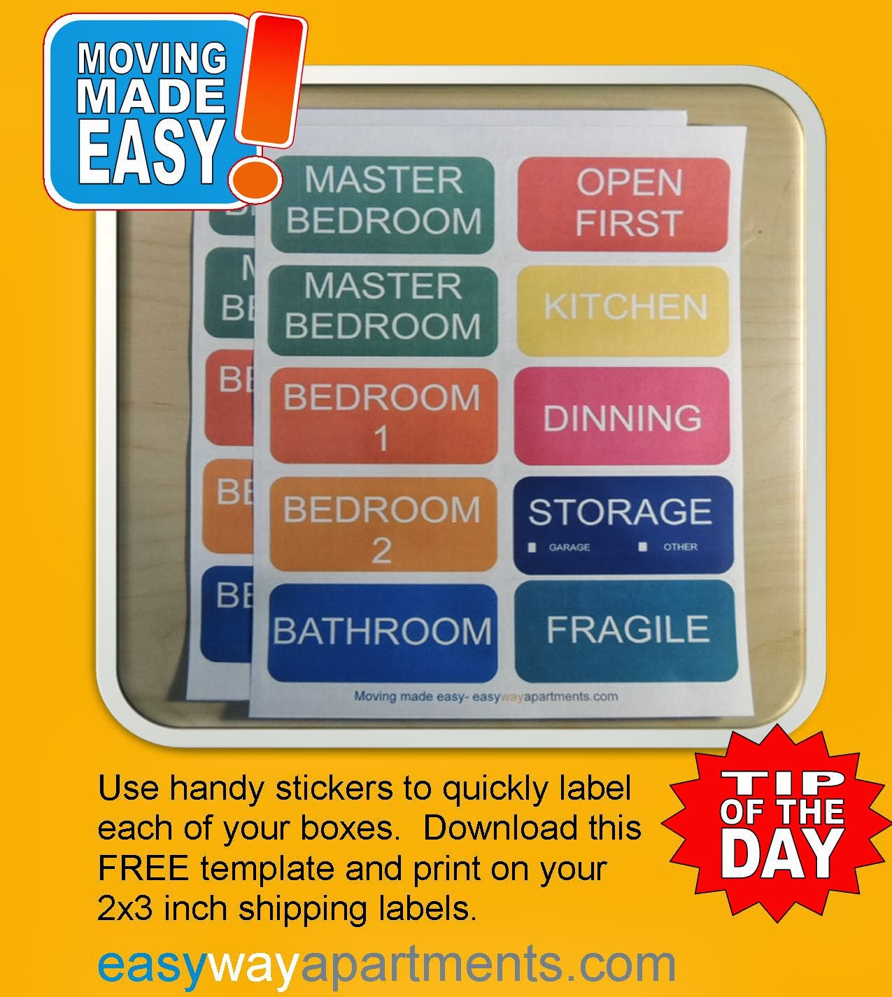 Sticker 4 Tips to Revitalize Your Apartment