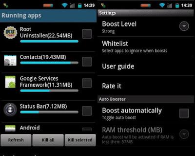 Aplikasi booster terbaik - Smart Booster Pro v6.3 build 867 APK