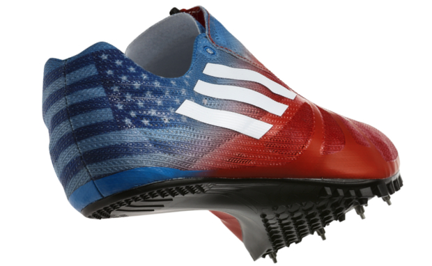 free shipping c410d 8dc7c At just 3.5 ounces, the adiZero Prime SP is the lightest sprint spike ever  made and 62% lighter than the adiZero Demolisher worn at the Beijing Games  in ...