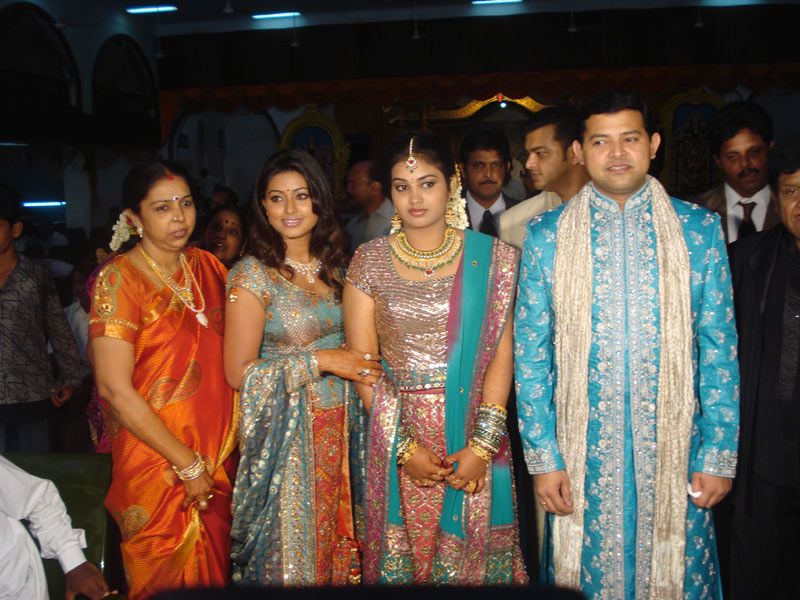 Sneha Tamil Actress Wedding Photos