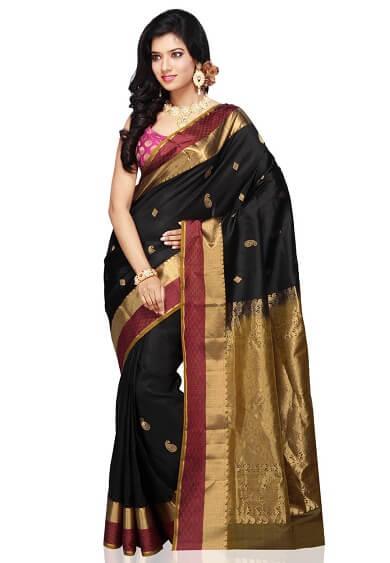 Grand Pallu Bangalore Silk Saree