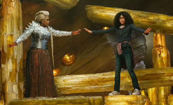 It's all about maintaining a balance in A WRINKLE IN TIME (2018)