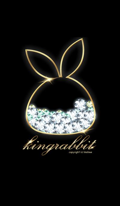 Gold rabbit king