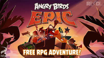 Free Download Angry Birds Epic MOD APK 1.3.7
