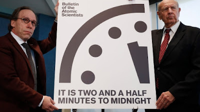 Doomsday Clock world apocalypse