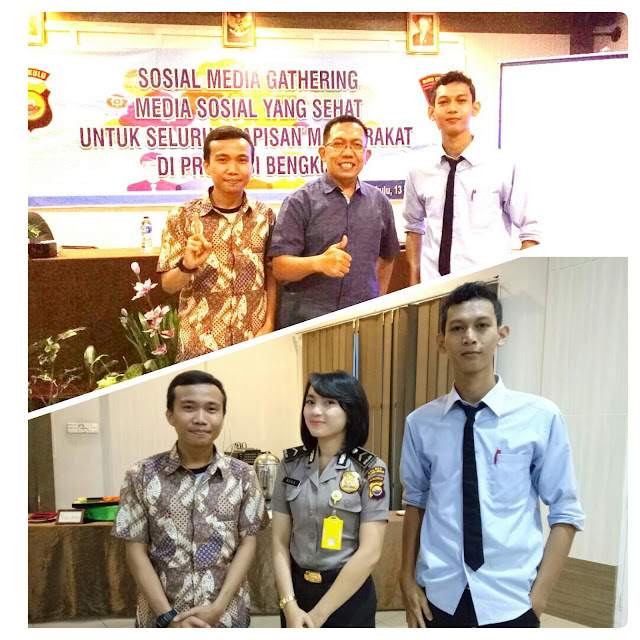 Sosial Media Gathering Polda Bengkulu 2017