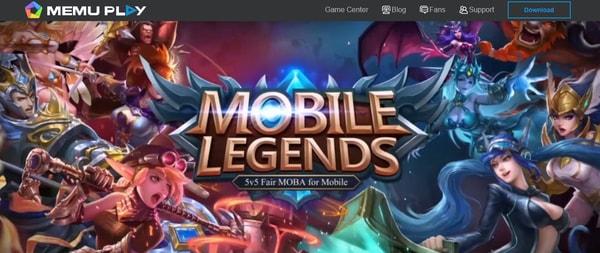MEmu mobile legends