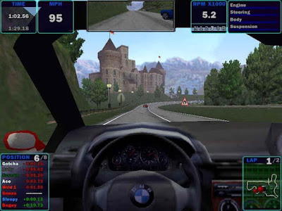 Need For Speed 4 High Stakes for Windows 7 Old Generation Sports Car