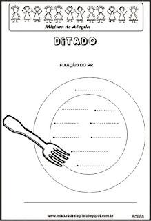 Treino ortográfico pr de prato
