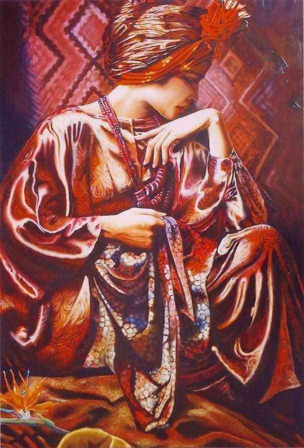Итальянский художник. Annarita Renzi