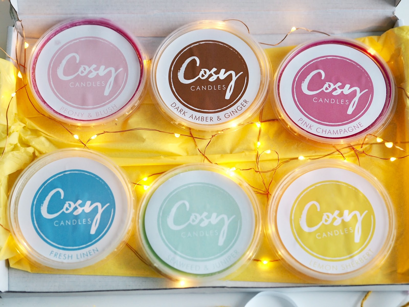 Cosy Candles Are A Subscription Box Service, Delivering The Highest