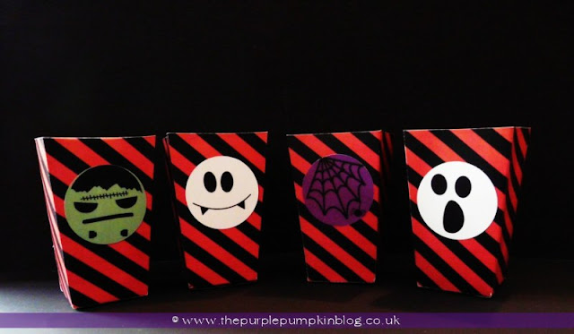 """Halloween 2"""" Circle Toppers at The Purple Pumpkin Blog"""