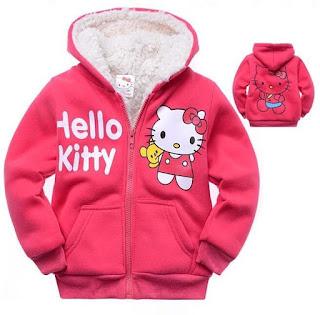 Gambar Jaket Hello Kitty Untuk Anak 9