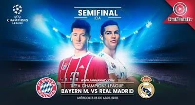 Bayern Munich enfrenta al Real Madrid en la semifinal de la Champions League