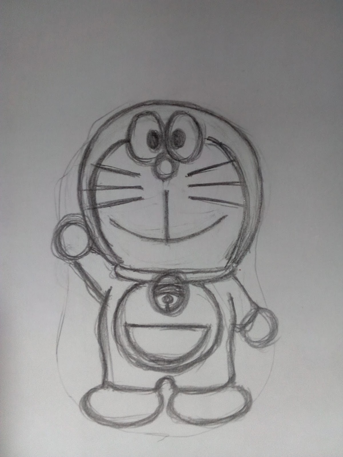 178 Gambar Sketsa Doraemon Berwarna