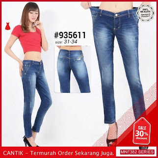 MNF382J152 Jeans 935611 Wanita Skinny Jeans Celana terbaru 2019 BMGShop