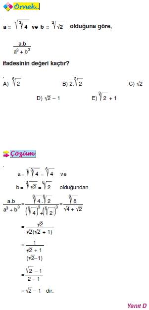 rasyonel sayılar konu anlatımı pdf