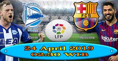 Prediksi Bola855 Alaves vs Barcelona 24 April 2019