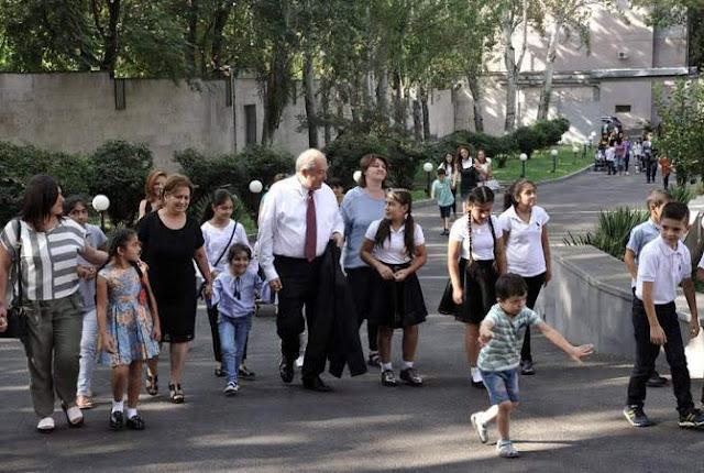 Residencia presidencial de Armenia abierta al público cada domingo