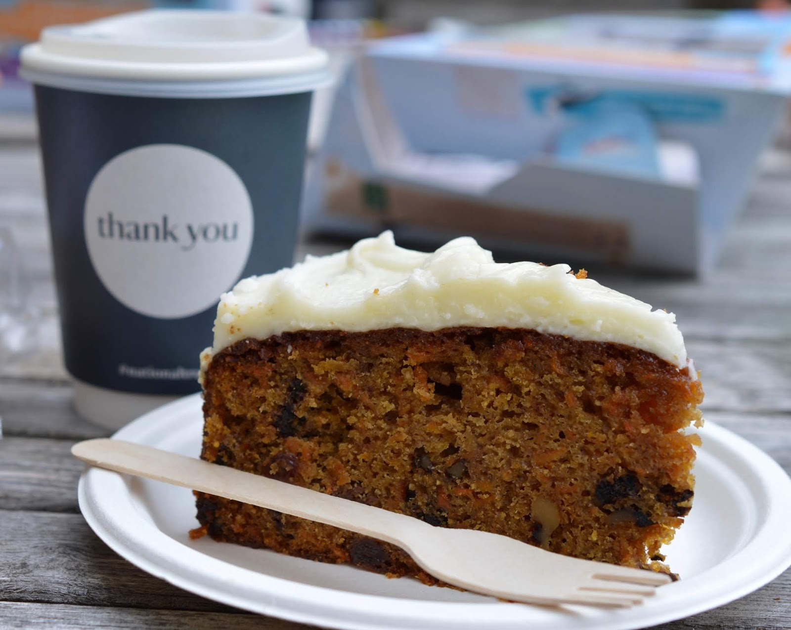 10 Reasons to Visit Seaton Delaval Hall  - homemade carrot cake