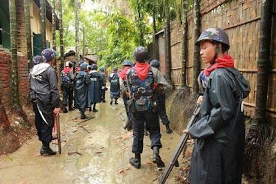 Militer Myanmar Serbu Desa Muslim dan Usir Ribuan Warganya