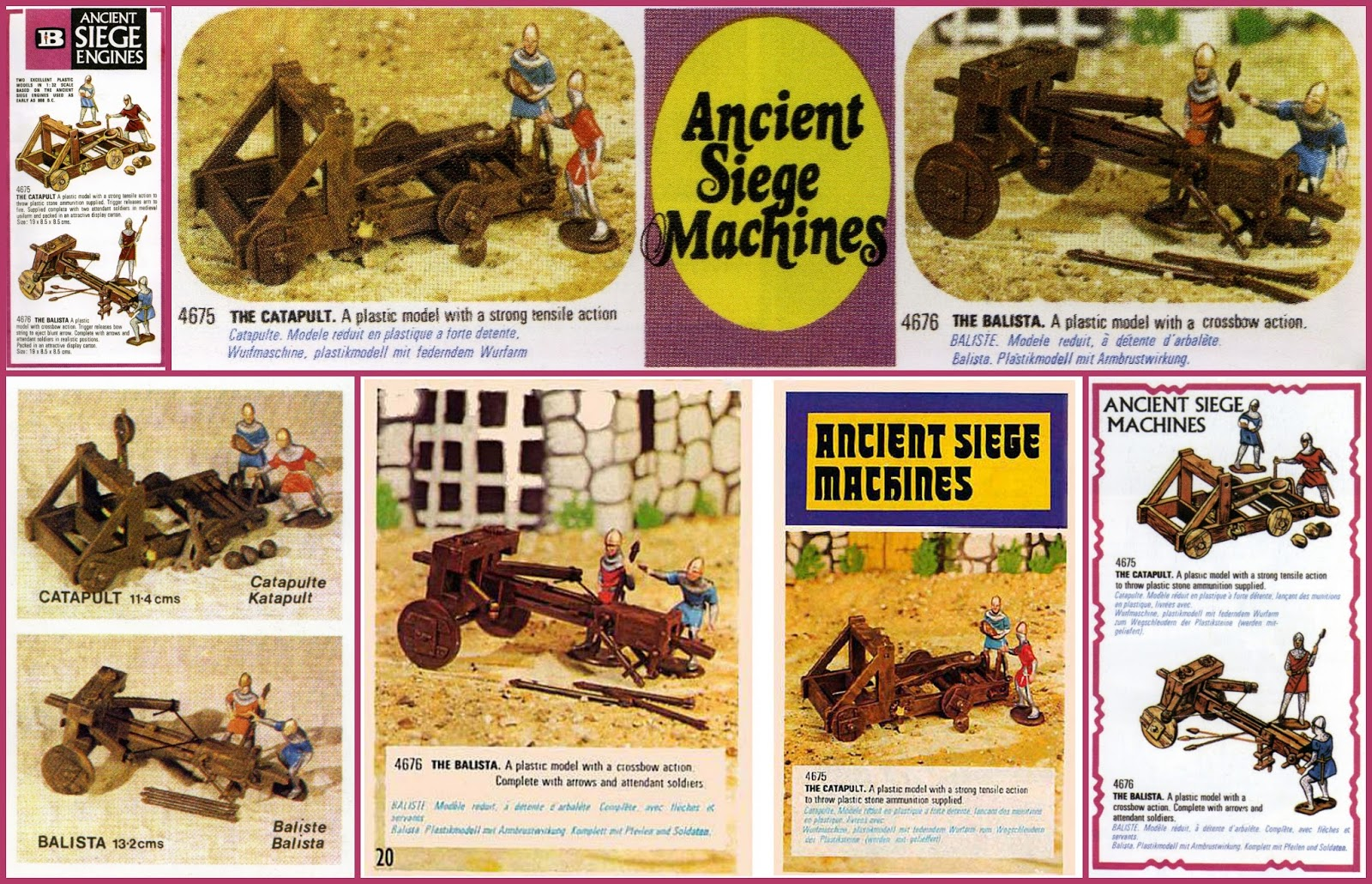 A is for 'Ancient Siege Machines' | Small Scale World