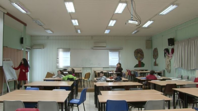 Debates over Albanian language courses in Crete