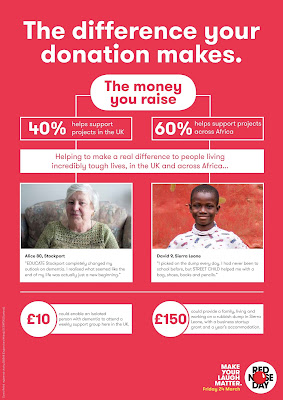 Comic Relief | the difference your donation makes
