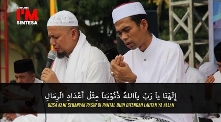 Inilah Do'a Ustadz Abdul Somad Kepada Ustadz Zulkifli M. Ali Yang Ditetapkan Sebagai Tersangka